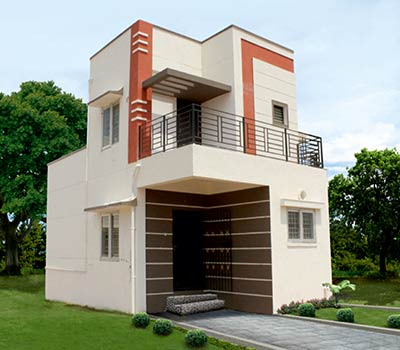 Flat builders in chennai smart homes in chennai duplex for Duplex project homes