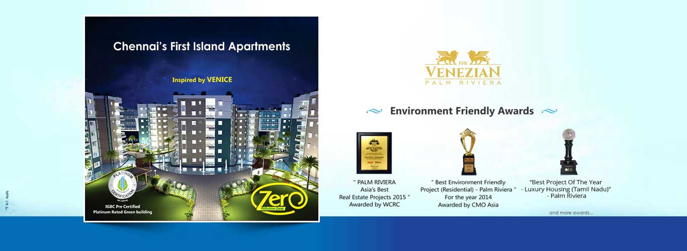 chennai's first island apartments
